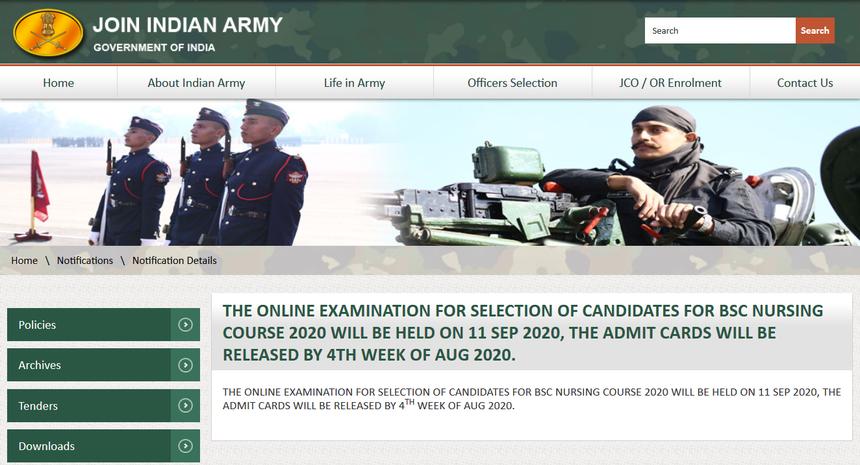 indian-army-bsc-nursing-exam-and-admit-card-date_38YaeGv
