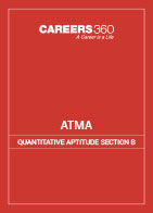 ATMA Quantitative Aptitude section B