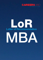 Sample letter of recommendation for MBA