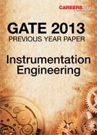 GATE 2013 Instrumentation Engineering Previous Year Paper