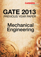 GATE 2013 Mechanical Engineering Previous Year Paper
