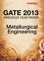 GATE 2013 Metallurgical Engineering Previous Year Paper