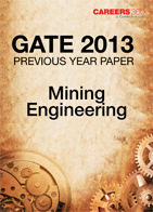 GATE 2013 Mining Engineering Previous Year Paper