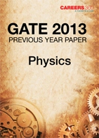 GATE 2013 Physics Previous Year Paper