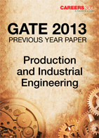 GATE 2013 Production and Industrial Engineering Previous Year Paper