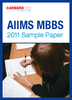 AIIMS MBBS 2011 Sample Paper
