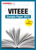 VITEEE Sample Paper 2013