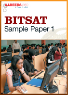 BITSAT Sample Paper 1
