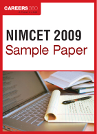 NIMCET Sample Paper 2009