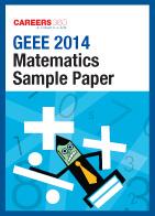 Download GEEE 2014 Mathematics Sample Paper
