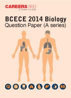 BCECE 2014 Biology Question Paper (A Series)