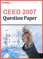 CEED Question Paper 2007