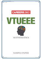 VTUEEE 2015 Mathematics Sample Pape