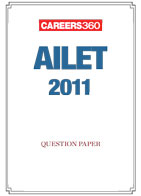 AILET 2011 Sample Paper