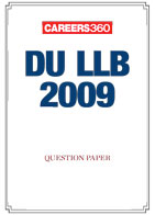 DU LLB 2009 Sample Paper