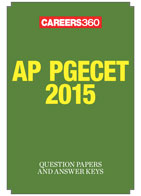 AP PGECET 2015 Question Papers & Answer Keys