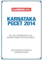 Karnataka PGCET 2014 EE, EE, BioMedical & Instrumentation Engg Question Papers & Answer Keys