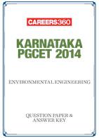 Karnataka PGCET 2014 Environmental Engineering Question Paper & Answer Key