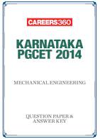 Karnataka PGCET 2014 Mechanical Engineering Question Papers & Answer Keys