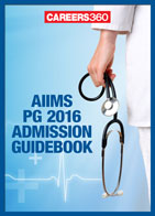 AIIMS PG 2016 Admission Book
