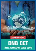 DNB CET 2016 Admission Guide Book
