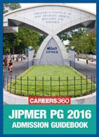 JIPMER PG 2016 Admission Book