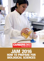 JAM 2016 How to Prepare for Biological Sciences