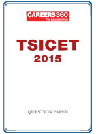 TSICET 2015 Question Paper