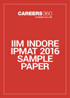 IIM Indore IPMAT 2016 Sample Paper