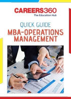 Quick Guide to MBA in Operations Management