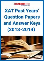 XAT Past Years Question Papers and Answer Keys (2013-2014)