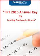 IIFT 2016 Answer Keys by Leading Coaching Institutes