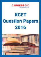KCET Question Papers 2016
