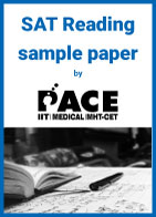 SAT Reading sample paper by PACE