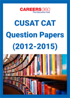 CUSAT CAT Question Papers (2012-2015)
