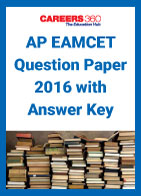 AP EAMCET Question Paper 2016 with Answer Key