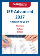JEE Advanced Answer Keys 2017