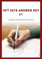 IIFT 2018 Answer Key by Leading Coaching Institutes