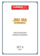 JNU MA Economics World Economy Sample Papers 2017– Set A