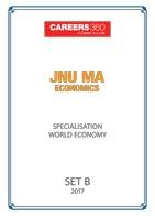 JNU MA Economics World Economy Sample Papers 2017– Set B