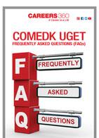 COMEDK UGET FAQs