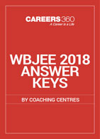 WBJEE 2018 Answer Keys by Coaching Centres