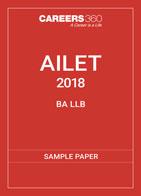 AILET B.A L.L.B Sample Paper 2018