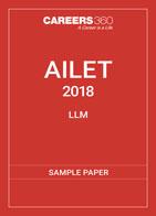 AILET L.L.M Sample Paper 2018