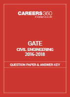 GATE 2016-2018 Civil Engineering Question Paper and Answer Key