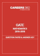 GATE 2016-2018 Mathematics Question Paper and Answer Key