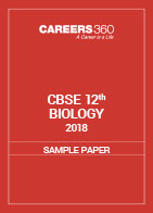 CBSE Sample papers for Class 12 Biology (2018)