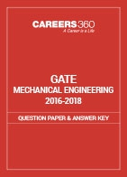GATE 2016-2018 Mechanical Engineering Question Paper and Answer Key