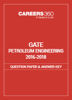 GATE 2016-2018 Petroleum Engineering Question Paper and Answer Key
