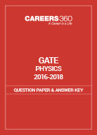 GATE 2016-2018 Physics Question Paper and Answer Key